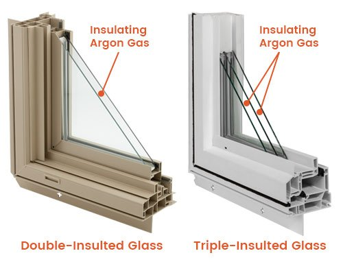 Insulated Glass Thermo Tech Premium Windows Doors
